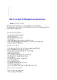 Môt số câu lệnh thường găp trong ubuntu-linux