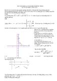 Bài toán biện luận nghiệm phương trình vô tỉ với nhiều cách giải
