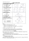 Chuẩn kiến thức hình học 12: Thể tích khối đa diện