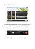 Hướng dẫn sử dụng Camtasia Studio 7 bằng hình ảnh
