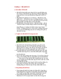 Chapter 5 - Bộ nhớ RAM