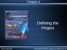 Chương 4: Xác định dự án