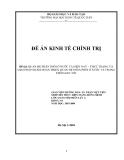Đề án: QUAN HỆ PHÂN PHỐI Ở NƯỚC TA HIỆN NAY – THỰC TRẠNG VÀ GIẢI PHÁP NHẰM HOÀN THIỆN QUAN HỆ PHÂN PHỐI Ở NƯỚC TA TRONG THỜI GIAN TỚI