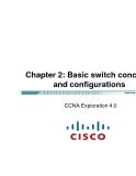 Chapter 2: Cơ bản về Switch các khái niệm và cấu hình