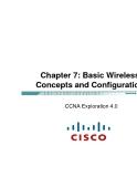 Chapter 7: Các khái niệm cơ bản về Wireless