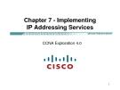 Chương 7 - Thực hiện Dịch vụ IP