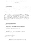 """Sáng kiến kinh nghiệm """" Phương pháp giải các dạng bài tập Vật lý 12 – Dao động cơ - Sóng cơ, sóng âm """""""