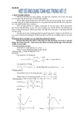 Sáng kiến kinh nghiệm: Một số ứng dụng Toán học trong Vật lý
