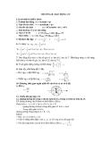 Tổng hợp công thức Vật lý 12 - DAO ĐỘNG CƠ