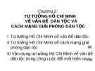Chương 2:  TƯ TƯỞNG HỒ CHÍ MINH VỀ VẤN ĐỀ DÂN TỘC VÀ CÁCH MẠNG GIẢI PHÓNG DÂN TỘC