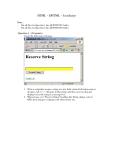 HTML - DHTML - JavaScipt