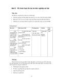 Bài giảng-Quản lý dự án lâm nghiệp xã hội -bài 5