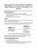 Hướng Dẫn Chức Năng CRUD Với EJB3 Sử  Dụng NetBeans 6.9.1 Server GlassFish 3.1 và  JSF 2.0