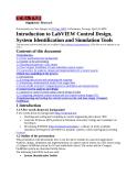 Giới thiệu về LabVIEW Thiết kế kiểm soát, Hệ thống nhận dạng và công cụ mô phỏng