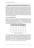 Tin học cơ sở - Chương 5