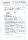 Đề thi môn tổ chức công tác kế toán viện đại học mở Hà Nội - để thi 02