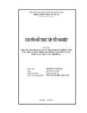 Đề tài: MỘT SỐ GIẢI PHÁP QUẢN LÝ NHẰM HOÀN THIỆN CÔNG TÁC TRẢ LƯƠNG THEO SẢN PHẨM TẠI CÔNG TY