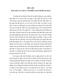 Tiểu luận Tư tưởng Hồ chí minh - TÍNH NHÂN VĂN TRONG TƯ TƯỞNG KINH TẾ HỒ CHÍ MINH