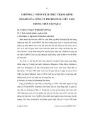 Lận văn thạc sĩ Quản trị kinh doanh - Chương 2.1