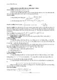 Đề thi thử môn: Toán (đề 1) (có đáp án)