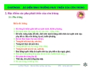 Bài giảng côn trùng : Đặc điểm sinh trưởng phát triển của côn trùng part 2
