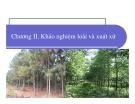 Bài giảng giống cây rừng : Khảo nghiệm loài và xuất xứ part 1