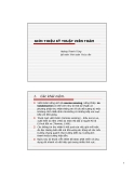 Bài giảng Kỹ thuật viễn thám (Hoàng Thanh Tùng) - Giới thiệu kỹ thuật viễn thám
