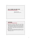 Bài giảng Kỹ thuật viễn thám (Hoàng Thanh Tùng) -  Xử lý thông tin viên thám