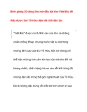 Tham khảo: Bình giảng 20 dòng thơ mở đầu bài thơ Việt Bắc
