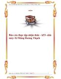Báo cáo thực tập nhận thức - k53- nhà máy-Xi Măng Hoàng Thạch