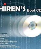 Hướng dẫn sử dụng đĩa Hiren Boot toàn 10.6 toàn tập