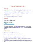Dành cho Windows XP/Vista/7