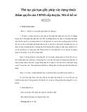 Thủ tục gia hạn giấy phép xây dựng thuộc thẩm quyền của UBND cấp huyện, Mã số hồ sơ 022221