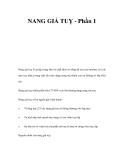 NANG GIẢ TUỴ - Phần 1
