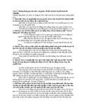 Câu 5: Những đóng góp của Mac-Ang ghen về lịch sử học thuyết kinh tế