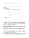 Câu 6: Các học thuyết kinh tế của trường phái cận biên Áo