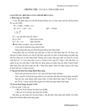 Bài giảng môn cơ sở lý thuyết hoá học - Chương VIII - Các quá trình điện hoá