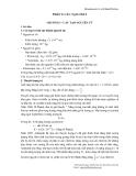 Bài giảng môn cơ sở lý thuyết hoá học - Phần 1 - Cấu tạo chất