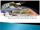 Chiến tranh tiền tệ-Tài chính quốc tế