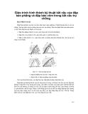 Giáo trình hình thành kỹ thuật kết cấu của đập bản phẳng và đập bản vòm trong kết cấu trụ chống p1