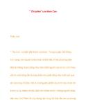 Tác phẩm Chí Phèo - Nam Cao