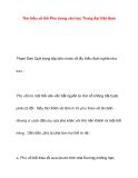 Tìm hiểu về thể Phú trong văn học Trung đại Việt Nam