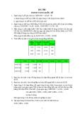 Bài tập môn thanh toán quốc tế