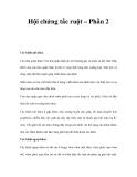 Hội chứng tắc ruột – Phần 2
