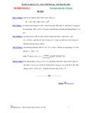 Đề kiểm tra định kỳ luyện thi đại học môn toán - Đề số 1
