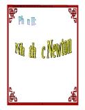 Chuyên để  Nhị thức Newton và công thức tổ hợp - 1