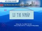 Bài giảng Luật hiến pháp - ThS. Định Thị Hoa