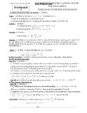 Đề thi thử toán - THPT chuyên Vĩnh Phúc