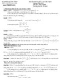Đề thi thử môn: Toán - THPT chuyên Hạ Long