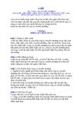 LUẬT QUỐC HỘI SỐ 49/2 005/QH 11